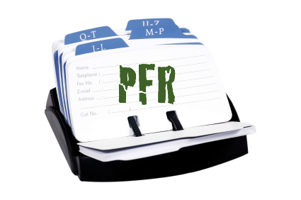 PFR Rolodex