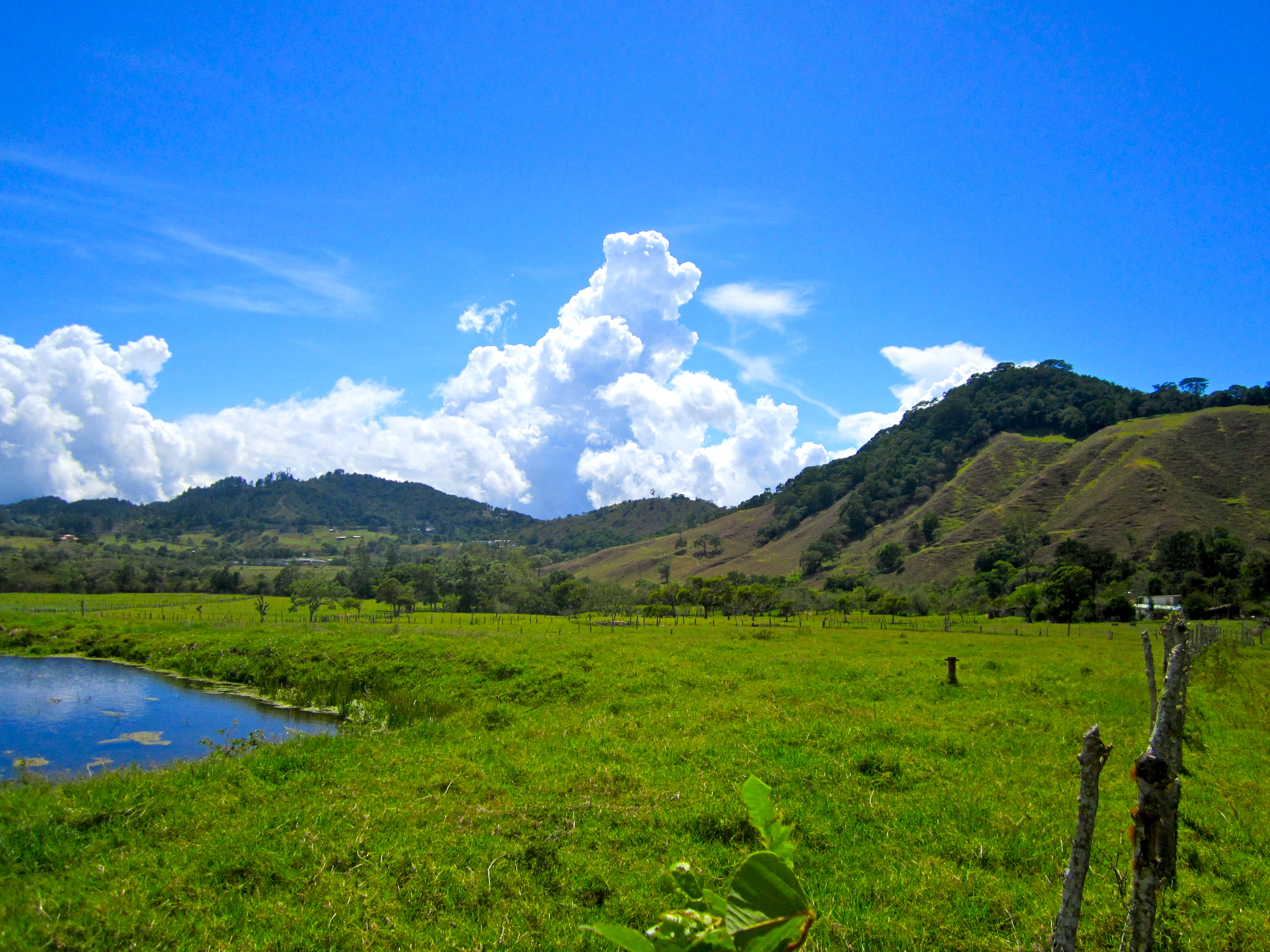 The little switzerland of panama volcan where the temperature and