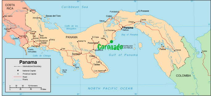 Coronado panama written report panama for real its super easy to find its located about an hour drive west of panama city remember panama runs west to east its between the town of chame and the gumiabroncs Gallery