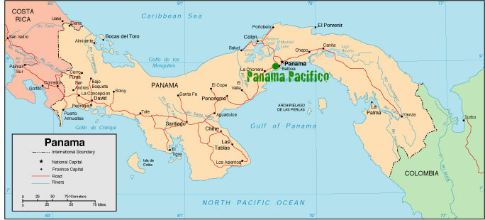Panama Pacifico Map
